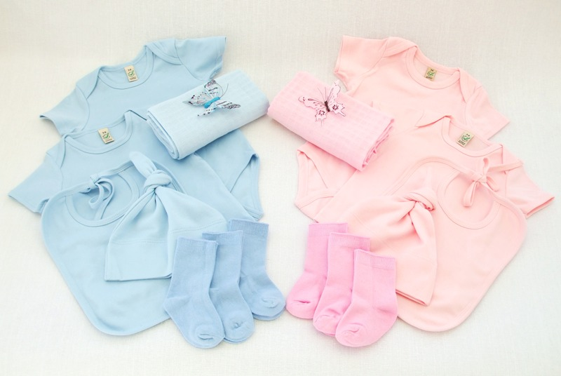 twinkle stars baby clothes twins bouquet
